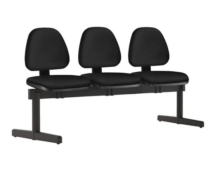 Cadeira Longarina SKYKL - 03 Lugares - Base SKL - Linha SKY- Sem Braço - Frisokar