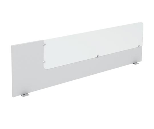 Divisória superior com vidro 1340mm x 400mm