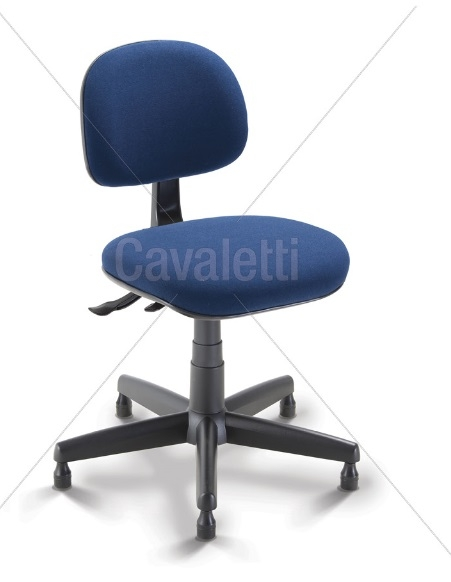 Cadeira COSTUREIRA Giratória Secretária 4034 SRE - Linha Start - Cavaletti - Base Polaina com Sapata