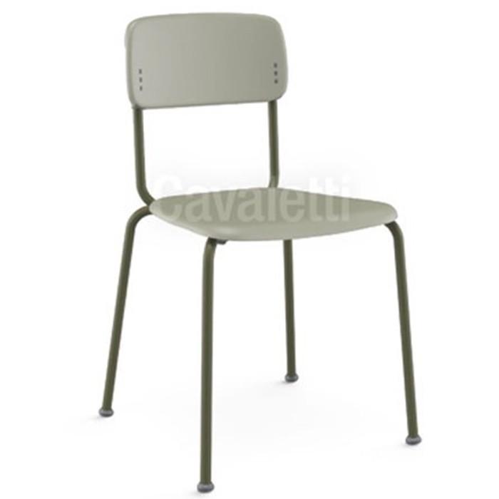 Cadeira Fixa Joy Estrutura Colorida