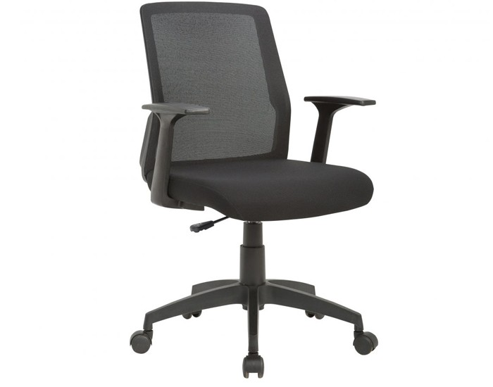 Cadeira Para Escritório Diretor Giratória IJOY01 - Mecanismo Relax - Encosto em Tela - Base Nylon - Sem Apoio Lombar - Com Braço PP - Linha Joy - Frisokar