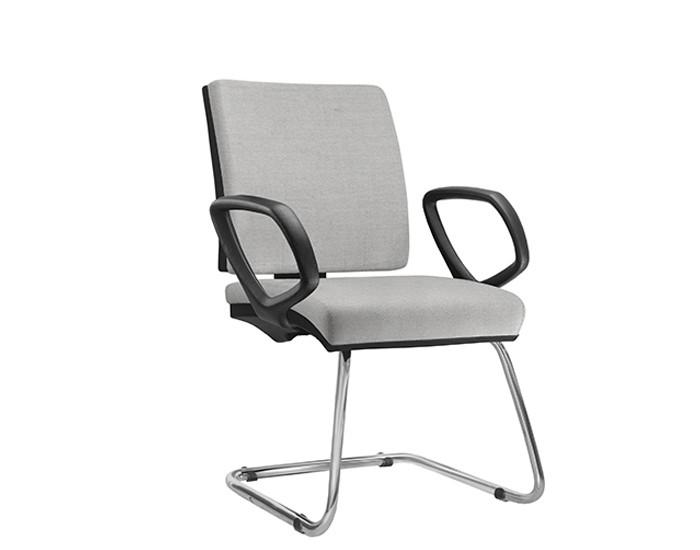 Cadeira Fixa SIMFX075 - Base Diretor Cromado - Com Braço - Linha Simple - Frisokar