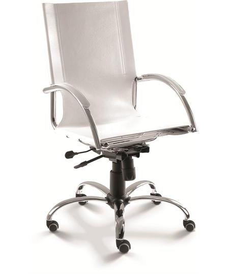 Cadeira para escritório giratória presidente 14001 BG Relax - Linha Chroma - Cavaletti - Base Aranha Elíptica