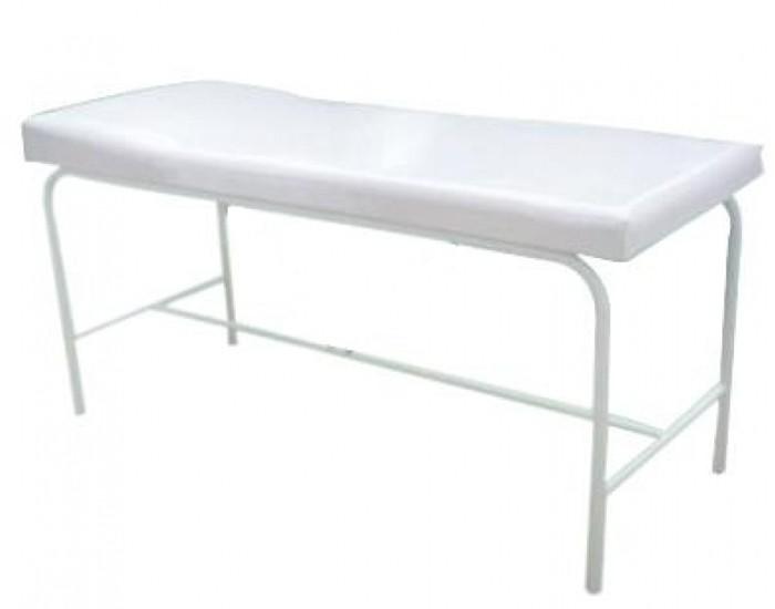 Cama de Massagem - Reta - Branca - Marcos Móveis