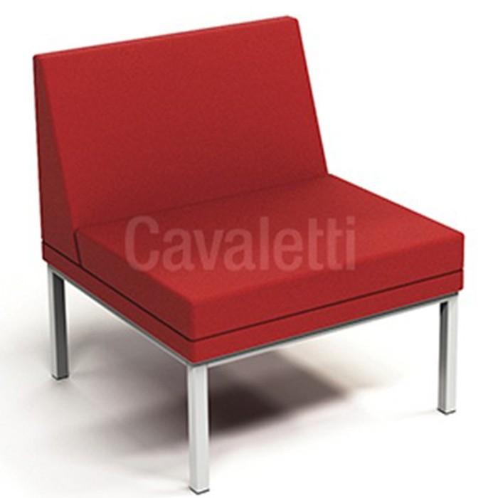 Sofá Espera 36505 Central sem braço - Linha Talk - Cavaletti