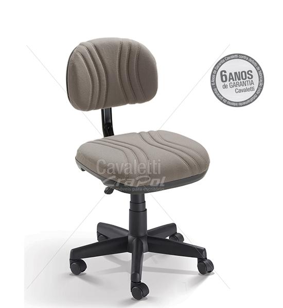 Cadeira para escritório Secretária Giratória BG 3004 - Linha Start Plus - Cavaletti - Base Polaina