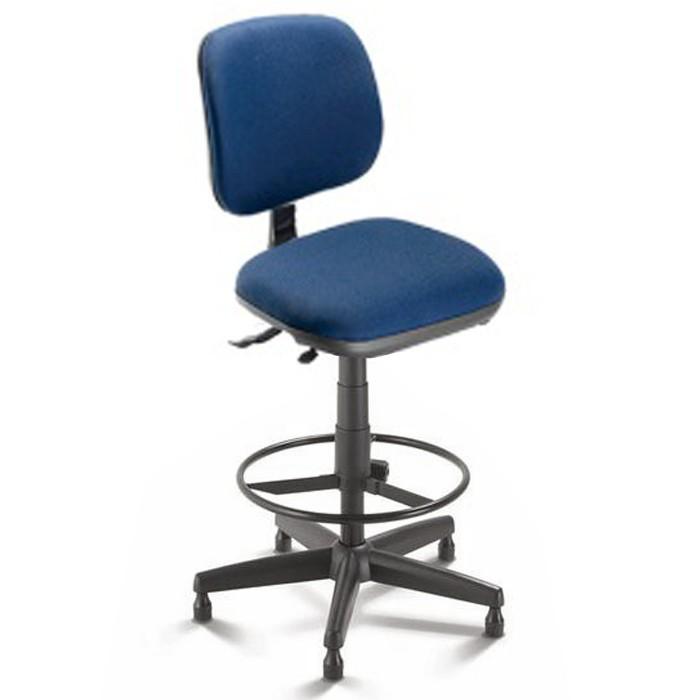 Cadeira giratória caixa 4123 - BKG SRE - Linha Start - Cavaletti - Com Aro Regulável - Base Polaina com Sapata