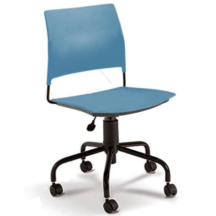 Cadeira para escritório executiva giratória 34003 - Sem Braço - Linha Go - Cavaletti - Base Aranha Preta