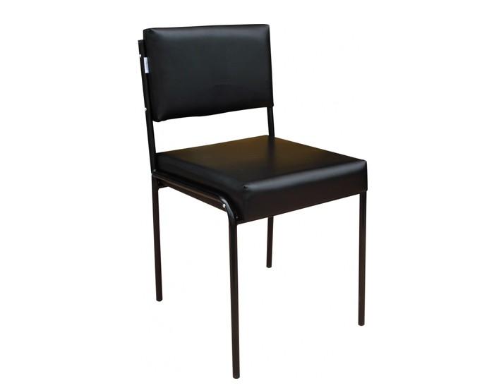 Cadeira Lara - Estofada - Estrutura em Aço - Marcos Móveis