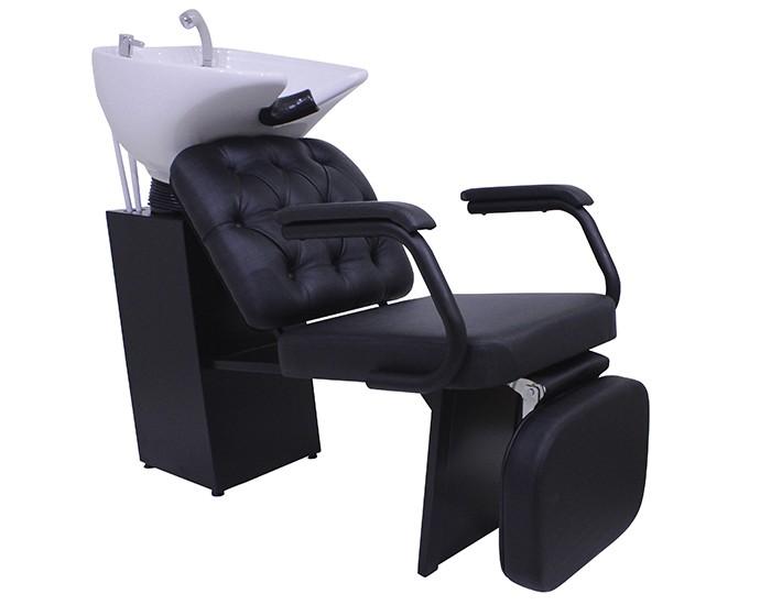 Lavatório Barber Boss - Com Descanso de Pernas - Kixiki Móveis -