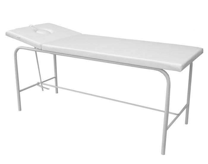 Cama de Massagem - Reclinável - Com Respiro - Branca - Marcos Móveis