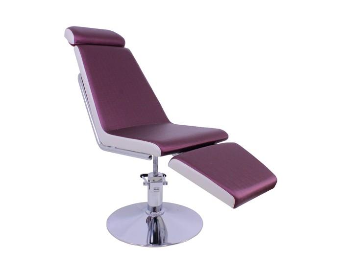 Cadeira Fixa Belize com ângulo de 120º - Encosto Fixo - Com Cabeçote - Com Descanso de Pernas - Kixiki Móveis