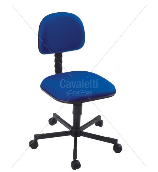 Cadeira para escritório Secretária Giratória 4114 - Linha Start - Cavaletti - Base Aço