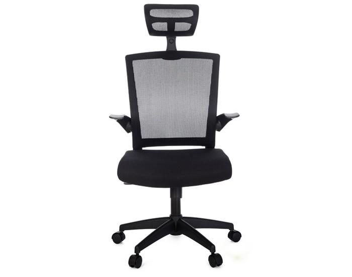 Cadeira Diretor ANM321D - Mecanismo Relax - Braço Articulável - Com Apoio de Cabeça - Base Nylon - Anima Office