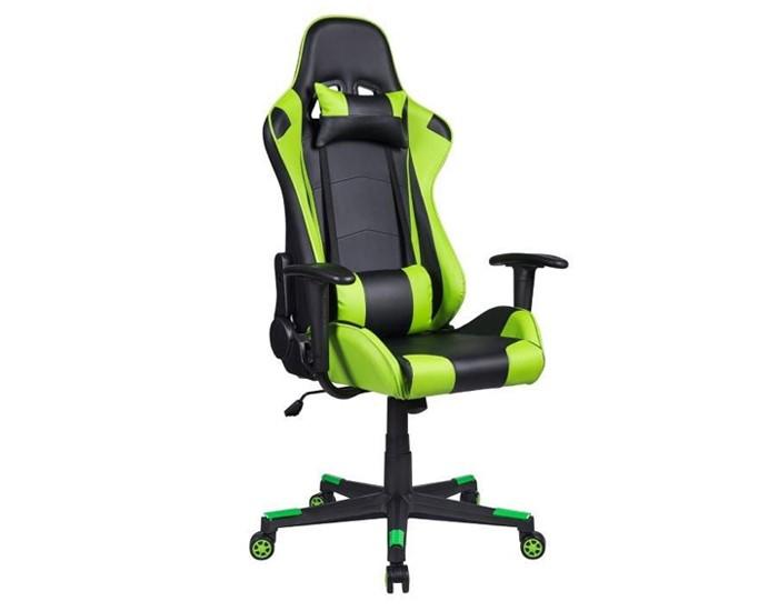 Cadeira Gamer PEL3012 - Encosto Reclinável - Base PP - Relax - Pelegrin