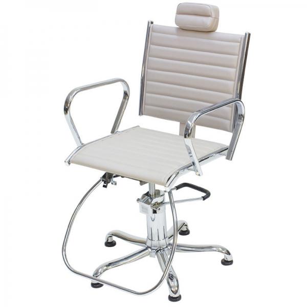 Cadeira Atenas - Encosto Reclinável - Com Cabeçote- Kixiki Móveis