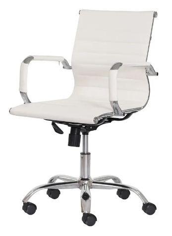 Cadeira Office Stripes Diretor - Mecanismo Relax - Braço fixo e Base Cromada