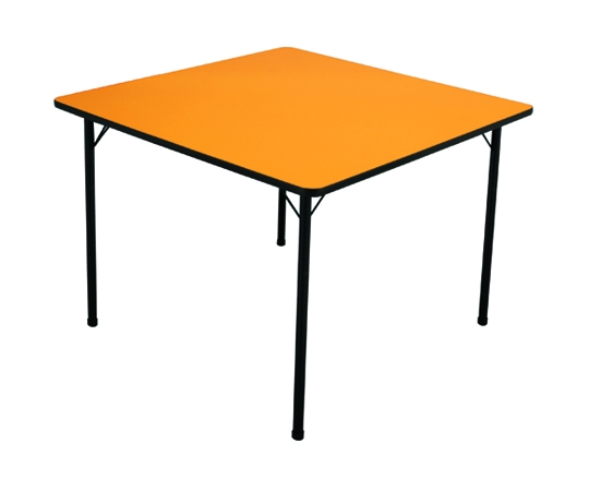 Mesa infantil (1 à 5 anos) colorida - 800mm x 800mm - Dellus