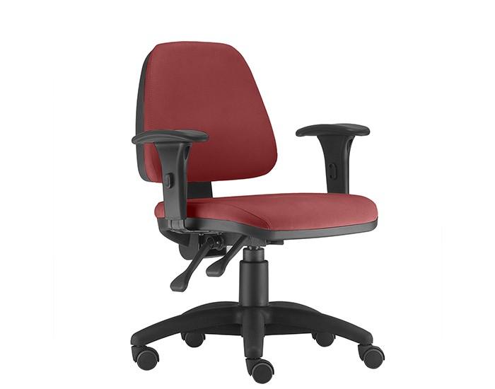 Cadeira Para Escritório Diretor Giratória SKY287 - Mecanismo Evolution - Base Nylon - Linha SKY- Com Braço PU - Frisokar