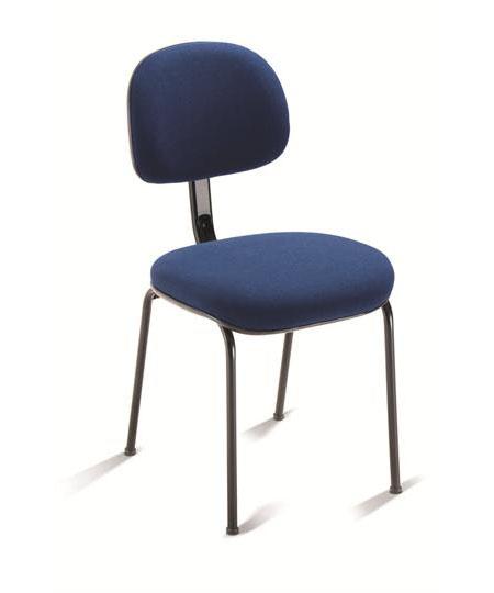Cadeira para escritório fixa aproximação 4008 P - Linha Start - Cavaletti
