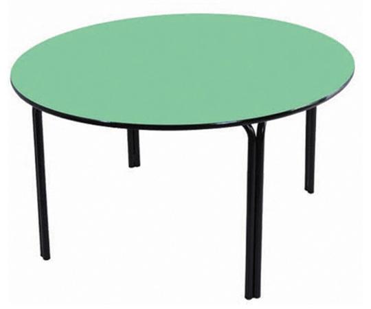 Mesa redonda infantil (1 à 5 anos) colorida - Diâmetro 1000mm - Dellus