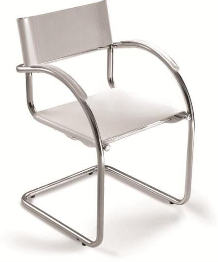 Cadeira para escritório fixa aproximação 14007 S - Linha Chroma - Cavaletti