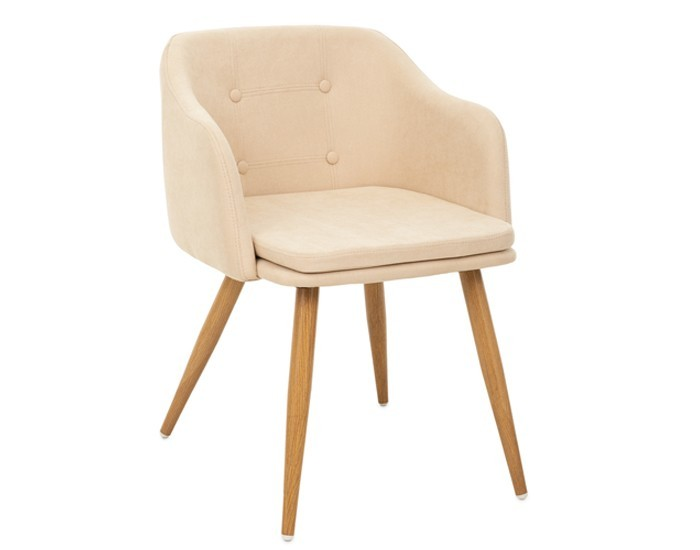 Cadeira ANM 8011 F - Base em Aço - Estofada - Anima Home & Office