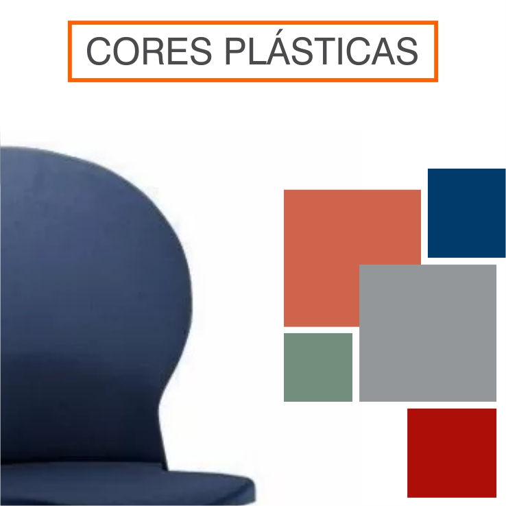 Cores de Estruturas Plásticas