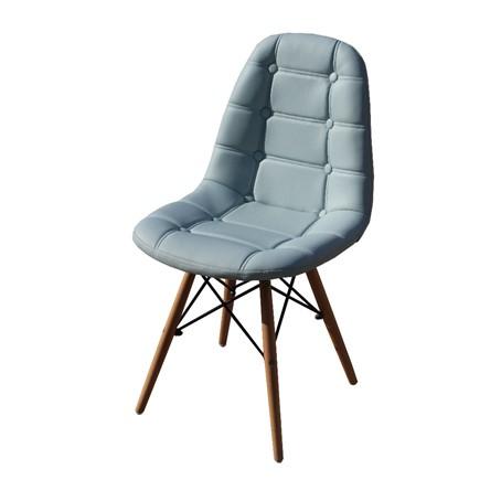 Cadeira Eiffel Botonê - Eames -  Estrutura de madeira e concha Estofada -