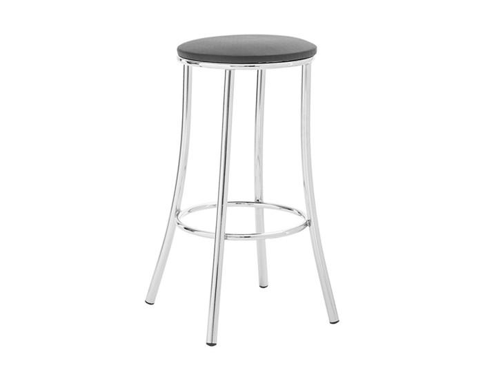 Banqueta Bar 016 - Sem Encosto - 68cm - Assento Estofado