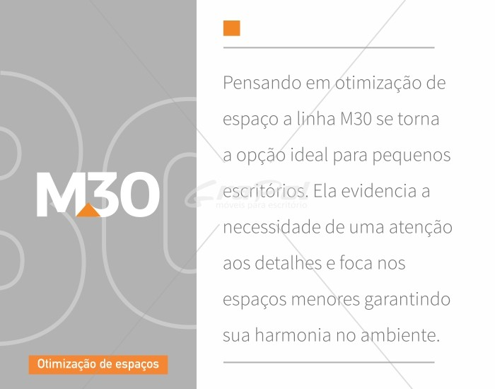 Mesa Reta - Pé Painel - MDP 30mm - 1200mm X 600mm  -