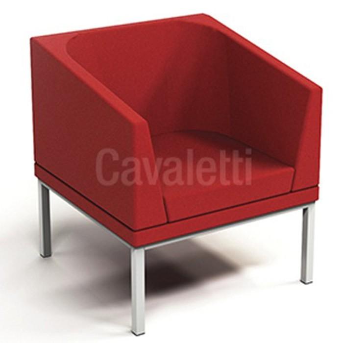 Sofá Espera 36505 Com braço - Linha Talk - Cavaletti