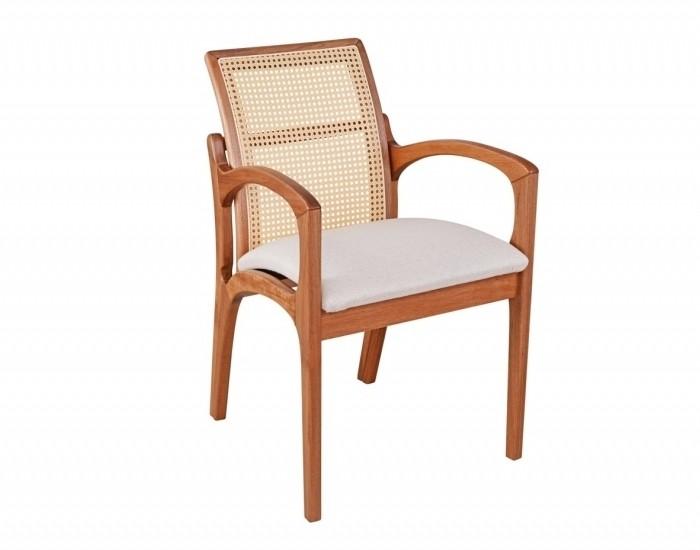 Cadeira Valquíria Almofadada c/ Braço