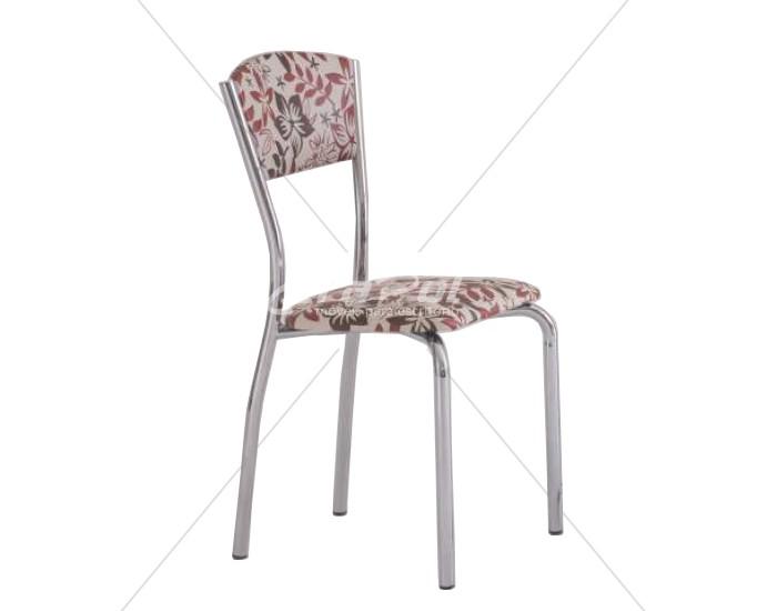 Cadeira 427 em Aço - Assento Quadrado - Estofada - Unimóvel