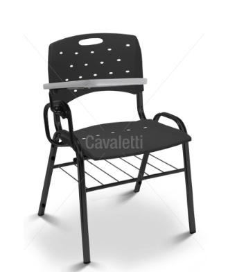 Cadeira Universitária Plástica 35008 PUE - Linha Viva - Cavaletti