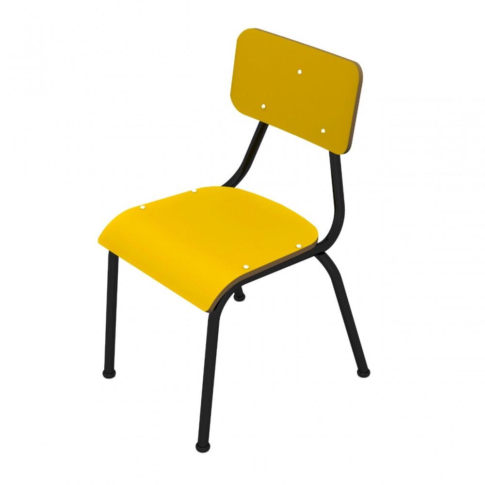 Cadeira escolar ADULTO (a partir de 10 anos) - Dellus -