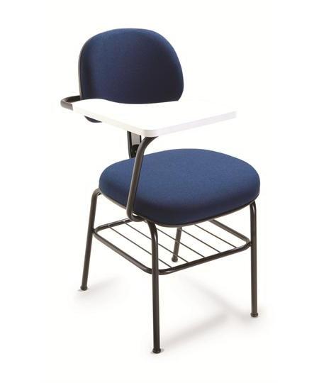 Cadeira Universitária 4008 PU c/ Gradil e Prancheta em MDF - Linha Start - Cavaletti