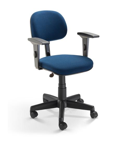 Cadeira para escritório Secretária Giratória 4004 - Linha Start - Braço SL - Cavaletti - Base Polaina