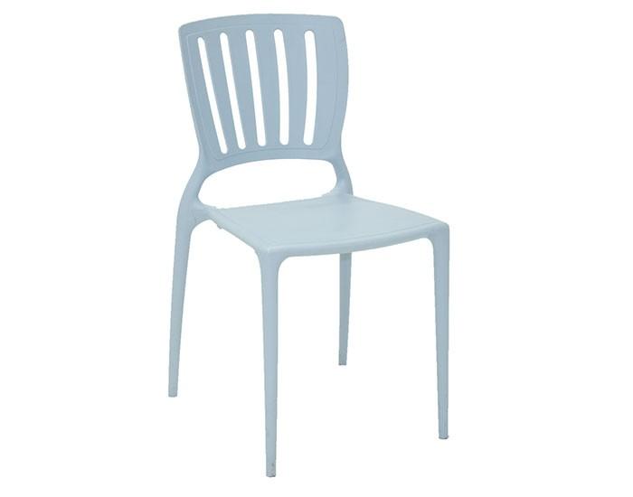 Cadeira Tramontina Sofia sem Braços Encosto Vazado Vertical em Polipropileno e Fibra de Vidro