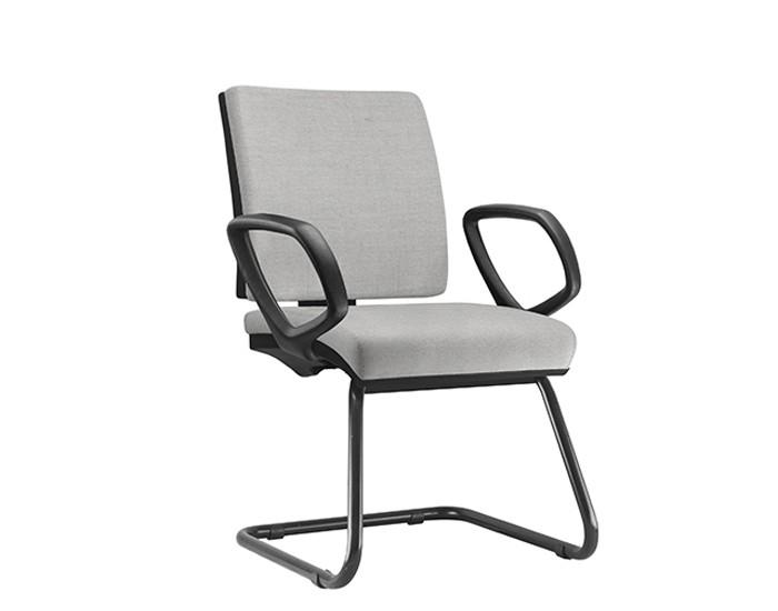 Cadeira Fixa SIMFX073 - Base Diretor Preto - Com Braço - Linha Simple - Frisokar