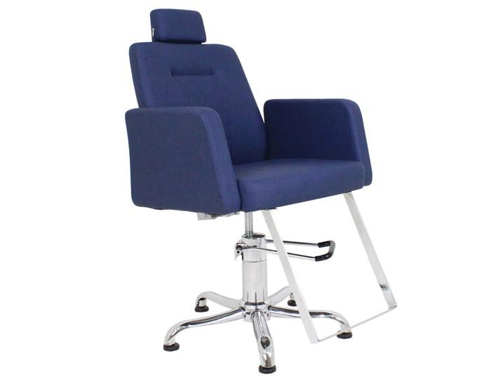 Cadeira Loren - Encosto Reclinável - Com Cabeçote - Kixiki Móveis