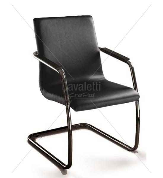 Cadeira para escritório fixa aproximação 18006 S EP- Linha Slim - Cavaletti