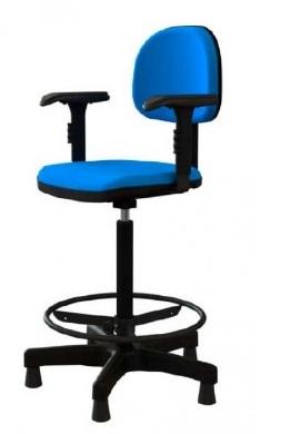 Cadeira Giratória Caixa- Com apoio de braços - CGC