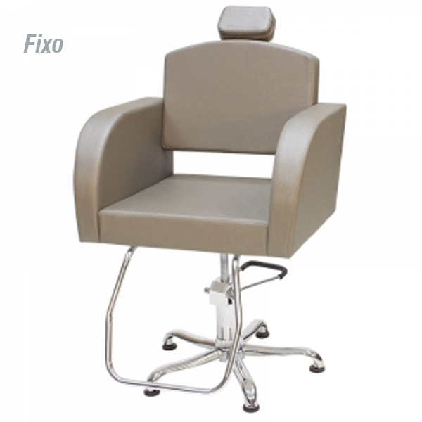 Cadeira Capri - Encosto Fixo - Com Cabeçote - Kixiki Móveis