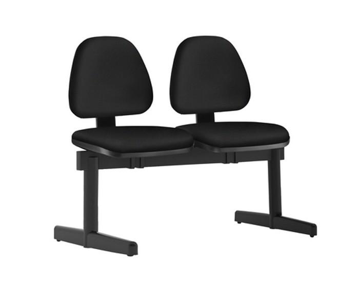 Cadeira Longarina SKYKL096 - 02 Lugares - Base SKL - Linha SKY- Sem Braço - Frisokar