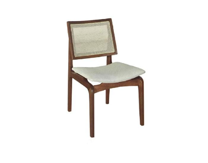 Cadeira Amsterdã Almofadada