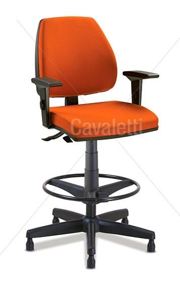 Cadeira giratória caixa 38022 BKG - SRE - Linha Pro - Cavaletti
