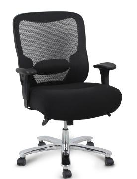 Cadeira para escritório giratória presidente BLUME 5130 com apoio lombar - LINHA EXTRA - Mecanismo RELAX - Braço com regulagem de altura - Blume Office - Base Aço cromado