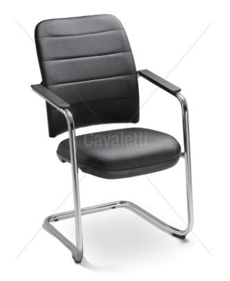 Cadeira para escritório fixa aproximação 16506 S - Linha NewNet Soft - Cavaletti