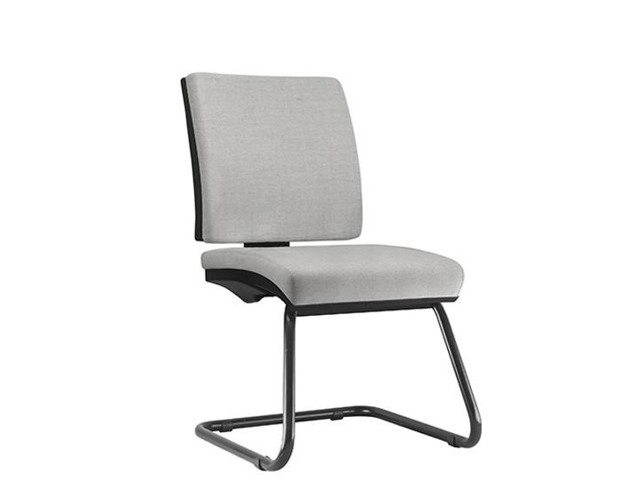 Cadeira Fixa SIMFX072 - Base Diretor Preto - Sem Braço - Linha Simple - Frisokar